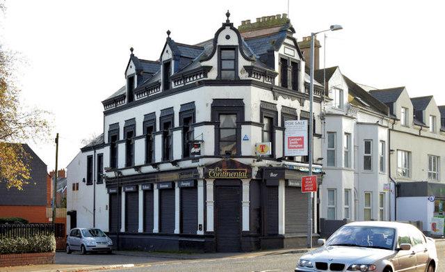 """The former """"Parkview Bar"""", Belfast (November 2014)"""