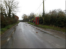 TM1583 : Dickleburgh Road & Dickleburgh Road Postbox by Adrian Cable