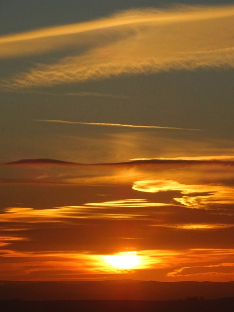 Peak District Sunset
