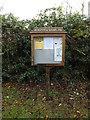 TM1583 : Burston & Shimpling Village Notice Board by Adrian Cable