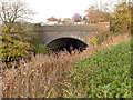 TF3752 : Railway bridge over the Hobhole Drain at Old Leake by Alan Murray-Rust
