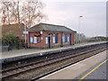 TF4958 : Wainfleet Station, Up platform by Alan Murray-Rust