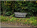 TM1582 : Dickleburgh Road sign by Adrian Cable
