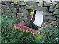 SE0325 : Trough under wall by Humphrey Bolton