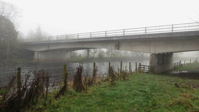 A66 bridge over the River Derwent