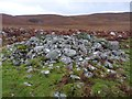 NR3649 : Pile of stones at Upper Leorin, Islay by Becky Williamson