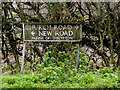 TM1581 : Church Road & New Road signs by Adrian Cable