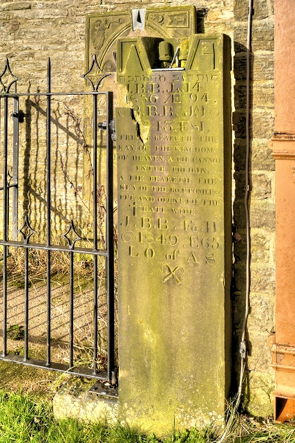 Old Headstone in St Thomas's Churchyard