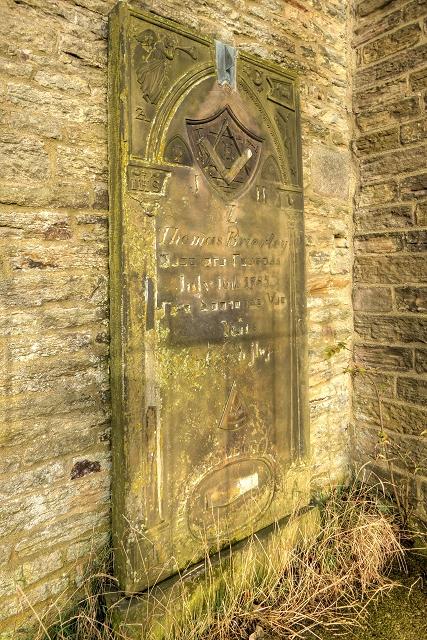 Thomas Brierley's Headstone