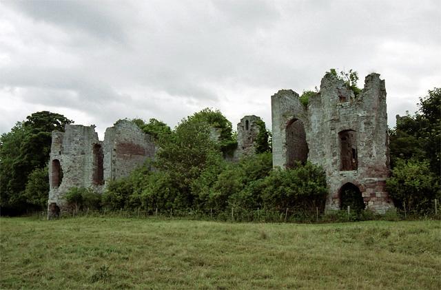 Twizel Castle near Norham