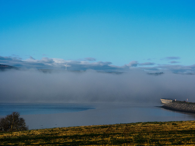 Fog in the Cromarty Firth