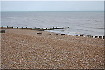 TQ7306 : Groynes, Collington by N Chadwick