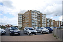 TQ7306 : Flats, West Parade by N Chadwick