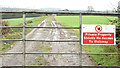 J4470 : Lane and gate near Comber - November 2014(1) by Albert Bridge