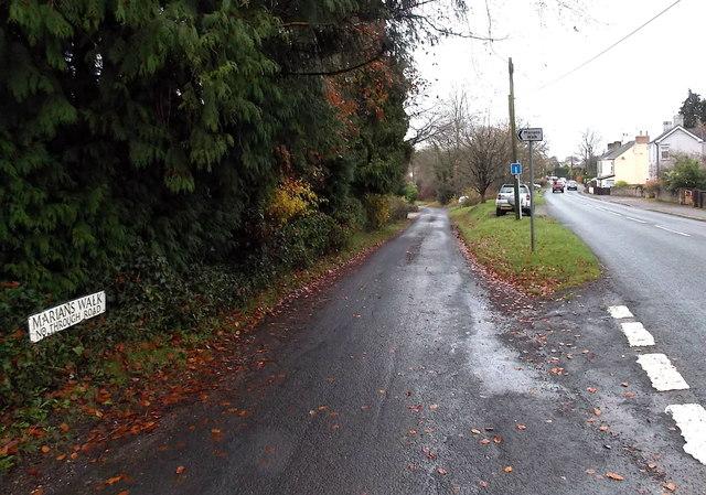 Marians Walk, Berry Hill