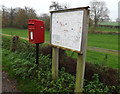 TM2384 : The Street Postbox & Starston Village Map by Adrian Cable