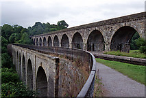 SJ2837 : Aqueduct and viaduct, Chirk by Stephen Richards