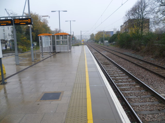 Caledonian Road & Barnsbury station on a wet November afternoon