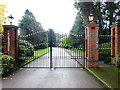 SU9566 : Entrance to Whinshill Court by Shazz