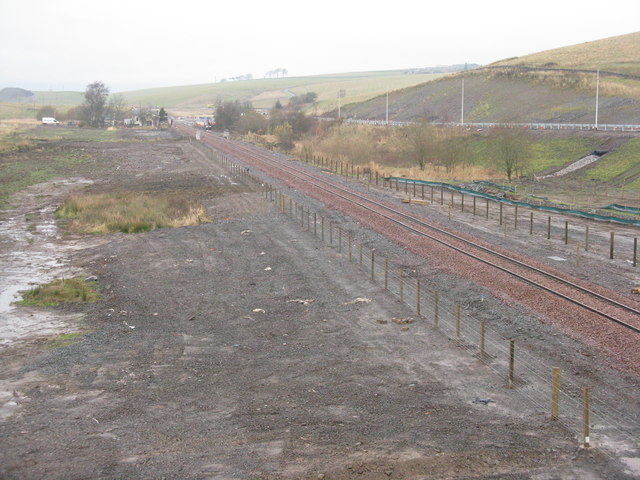 The Borders Railway at Heriot