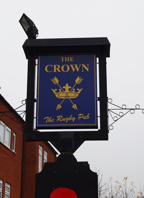 The Crown (2) - sign, 66 Bransford Road, St. John's, Worcester