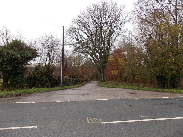 Northern end of Marians Walk, Berry Hill