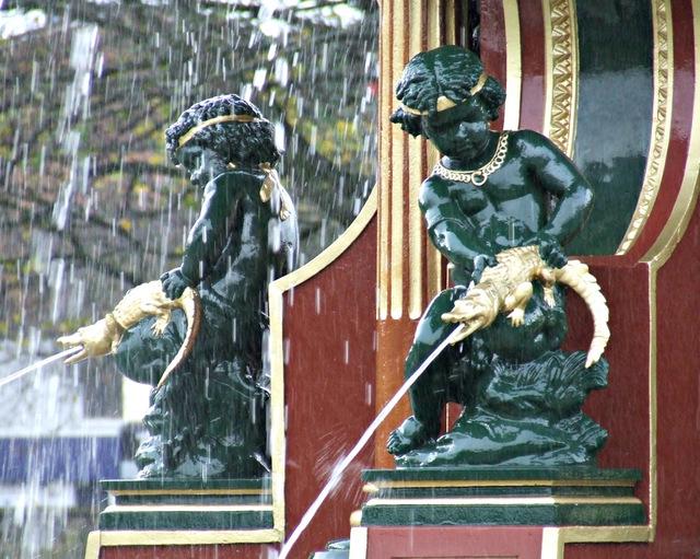 Fountain Gardens fountain
