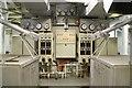 SU3912 : SS Margaret Hill - boiler control position. by Chris Allen