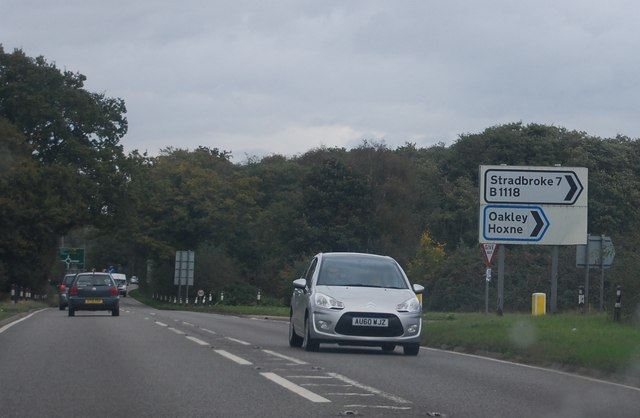 B1118, A140 junction by N Chadwick