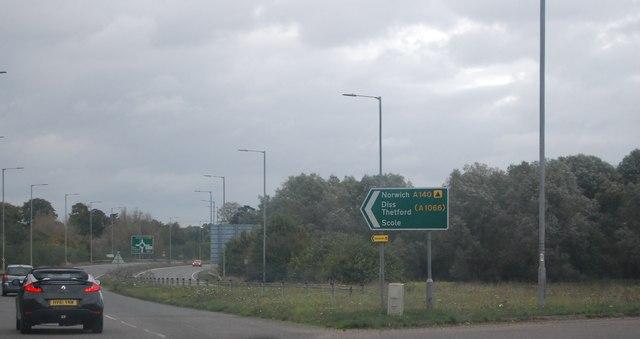A140 by N Chadwick