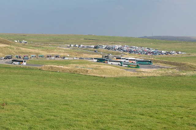 Coach and car park, Cliffs of Moher
