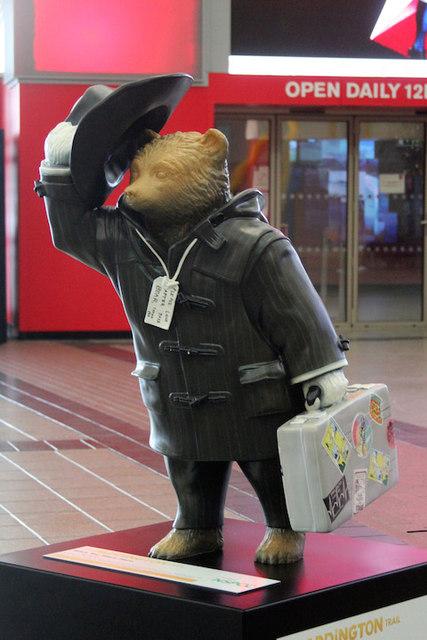 """Wish You Were Here"" Paddington Bear, The O2"