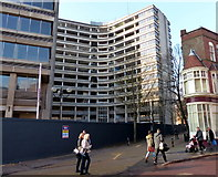 SK5804 : Demolition of the New Walk Centre by Mat Fascione