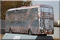 TQ3784 : Bus Art, 'Invisible to the Environment' by Oast House Archive