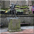NO4030 : Admiral Duncan statue, Castle Hill, Dundee by Bill Harrison