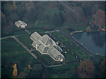 TQ1876 : Kew Garden from the air by Thomas Nugent