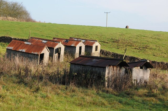 Sheds at Longhill Farm