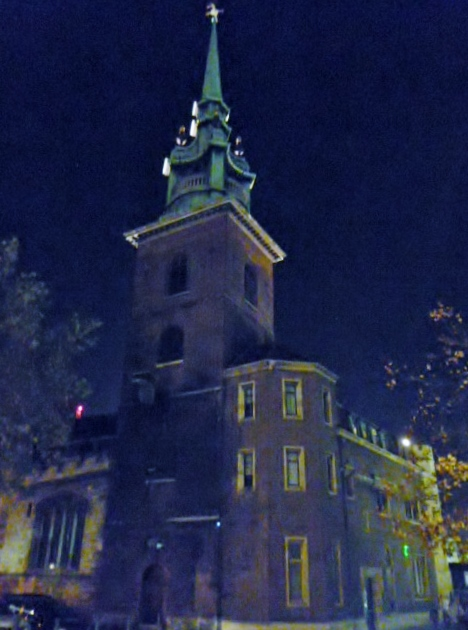All Hallows by the Tower, Byward Street EC3