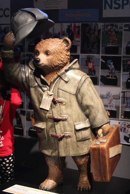 """""""Sherlock Bear"""" Paddington Bear, Museum of London"""