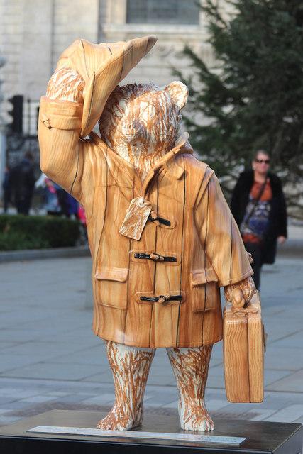 """Bear In The Wood"" Paddington Bear, Peter's Hill"