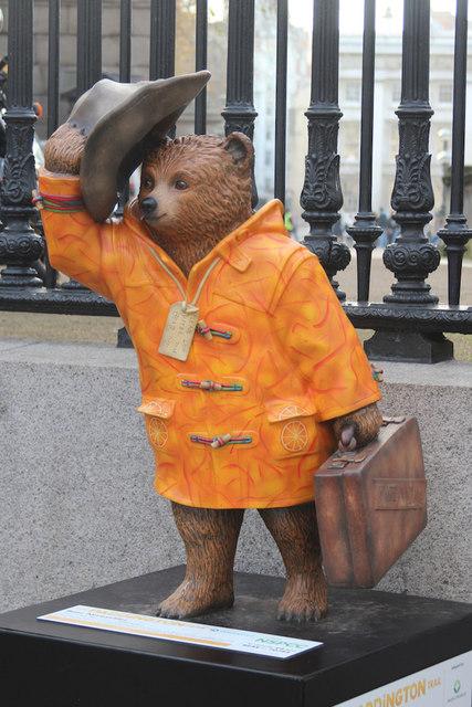 """Bear Necessities"" Paddington Bear, Great Russell Street"