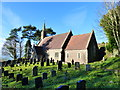 SO4703 : St Dennis church, Llanishen, Monmouthshire by Ruth Sharville