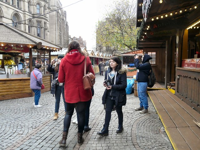 Photographing the Christmas Market