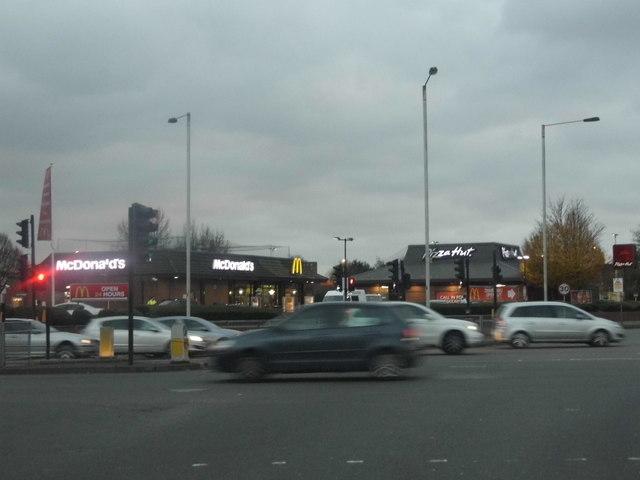 Mcdonalds And Pizza Hut On Uxbridge David Howard