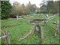 """TF0905 : Bainton's """"Wash Dyke"""" Sheepwash by Richard Humphrey"""