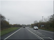 SJ5148 : A41 at Coach Road junction by Colin Pyle
