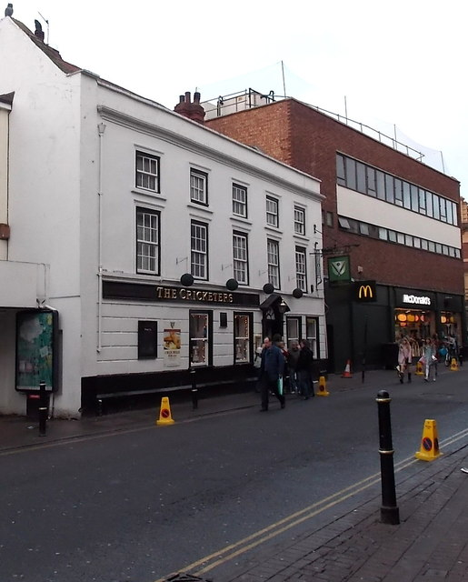 The Cricketers, Worcester