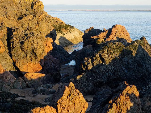 Rocks on the Rosemarkie shore