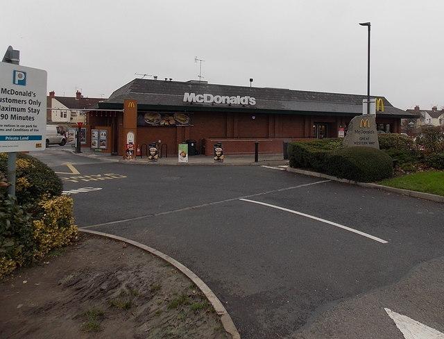 McDonald's Great Western Way, Swindon