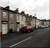 ST3288 : East side of Dean Street, Newport by Jaggery